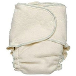 Babee green growing greens one size fitted nappy
