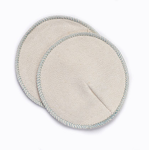 Babee greens organic cotton or organic cotton and hemp Nursing Pads (1 Pair)