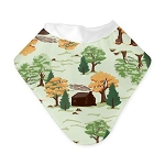 Bumgenius bandana bib - big woods