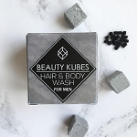 Beauty kubes solid shampoo and body wash kubes for men (27 pack)