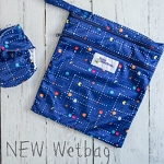 Baby beehinds double pocket wetbag