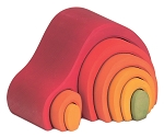Gluckskafer 8 piece arch house - red or green