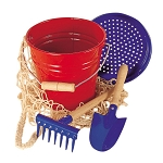 Gluckskafer metal bucket set
