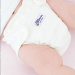 Baby beehinds hemp fitted nappy