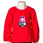 JNY Babushka Doll long sleeve top