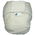little lamb bamboo fitted nappy size 3