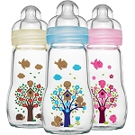 Mam glass baby bottle (170ml and 260ml)