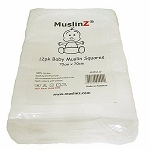 Muslinz 12 pack white squares
