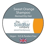 The solid bar company - vegan solid shampoo Sweet orange