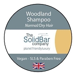 The solid bar company - vegan solid shampoo woodland