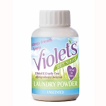 Violets 100 % Natural Laundry Powder trial size 200g