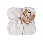 Xkko bamboo velour wash cloths / wipes (pack of 5)