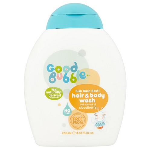 Good bubble Bish Bash Bosh! Hair & Body Wash with Cloudberry Extract 250ml