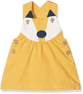 Kite fox pinafore age 3-4 years