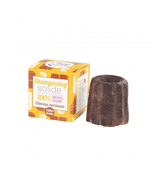 Lamazuna solid shampoo with chocolate for normal hair