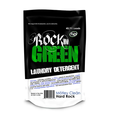 Rockin' Green Laundry Detergent classic rock